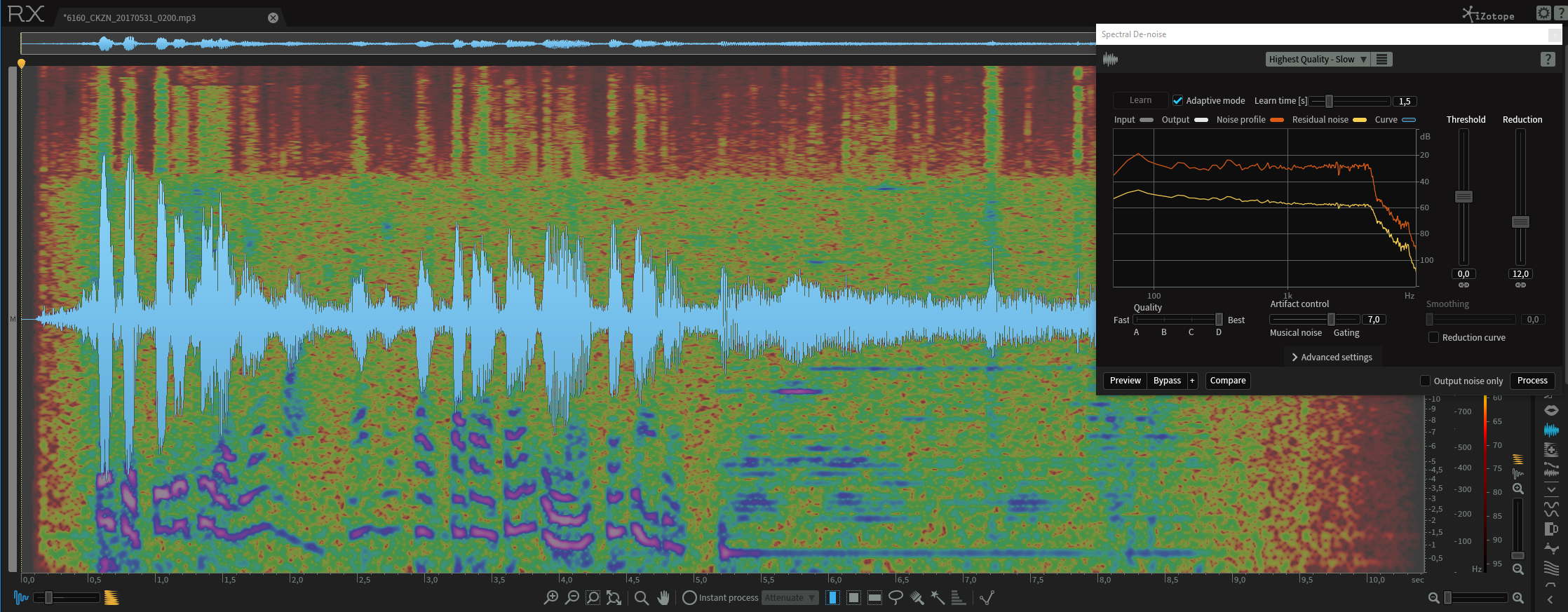 iZotope RX6 – A Miracle in restoring Audio | Nils Schiffhauer – DK8OK